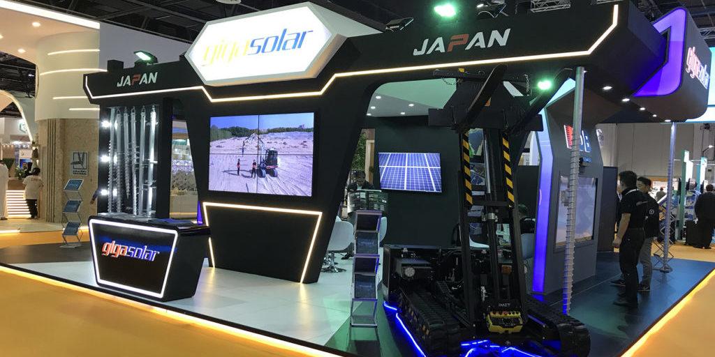 WETEX(Dubai Solar Show 2019)に出展致しました。